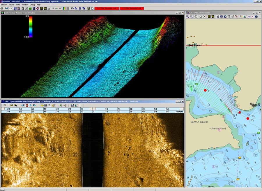 Klein Marine Systems Inc 187 System 5000 V2